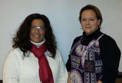 Elaine Kloss and Kathrine Vance-RIghetti