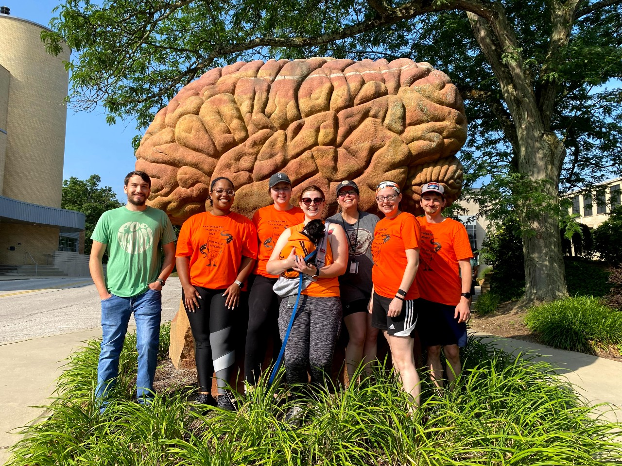 Biology students participate in Brain Day 5K 2021