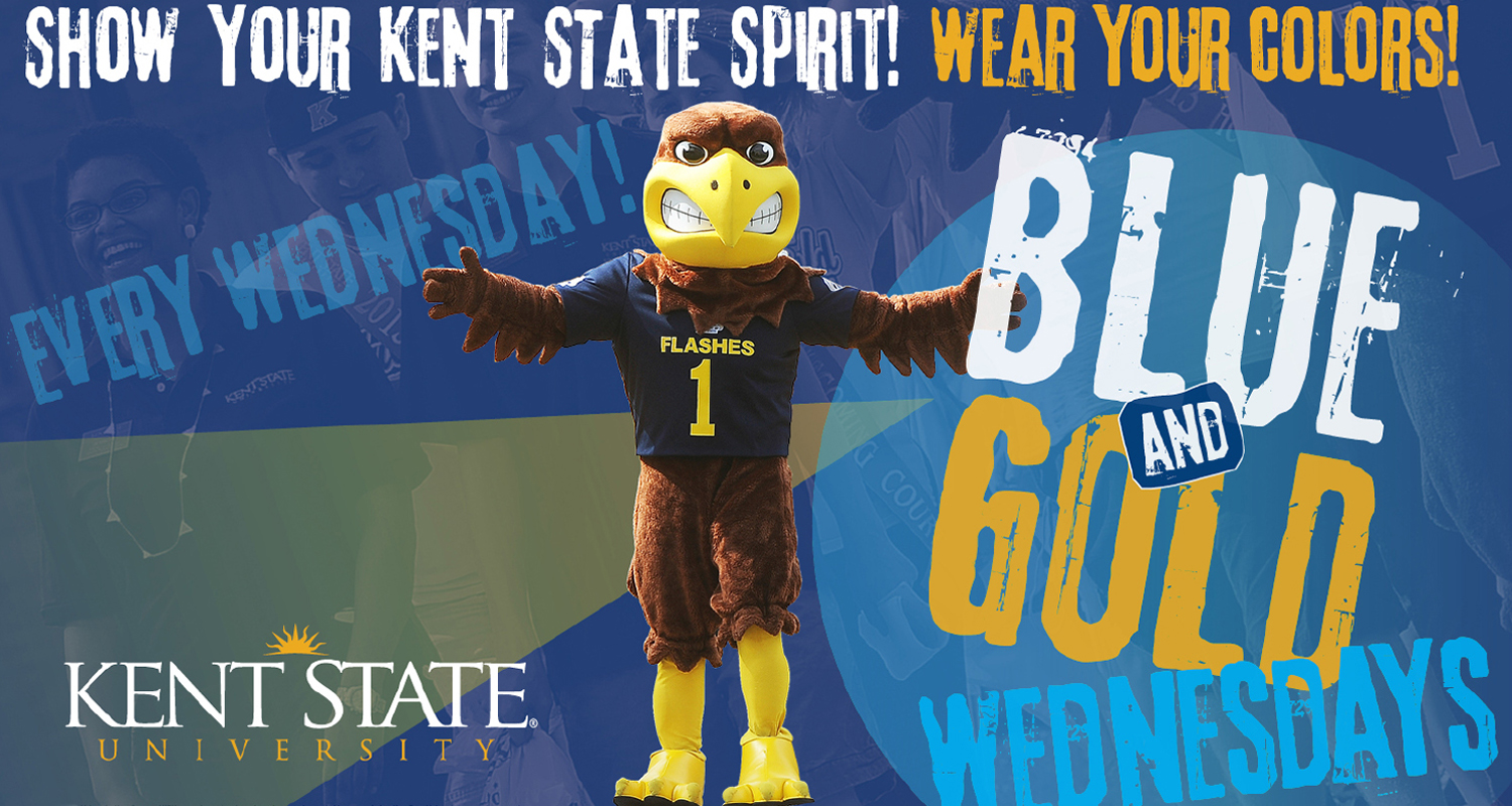 Blue and Gold Pride Day Every Wednesday