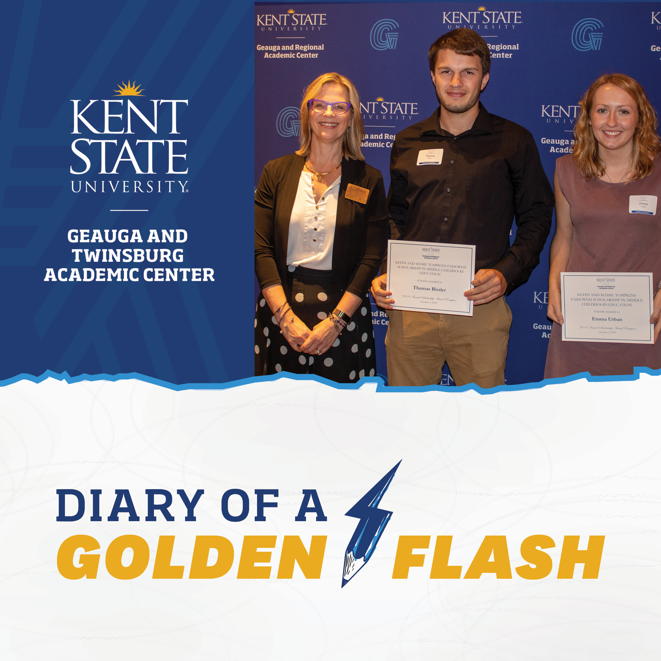 Diary of a Golden Flash Financial Aid