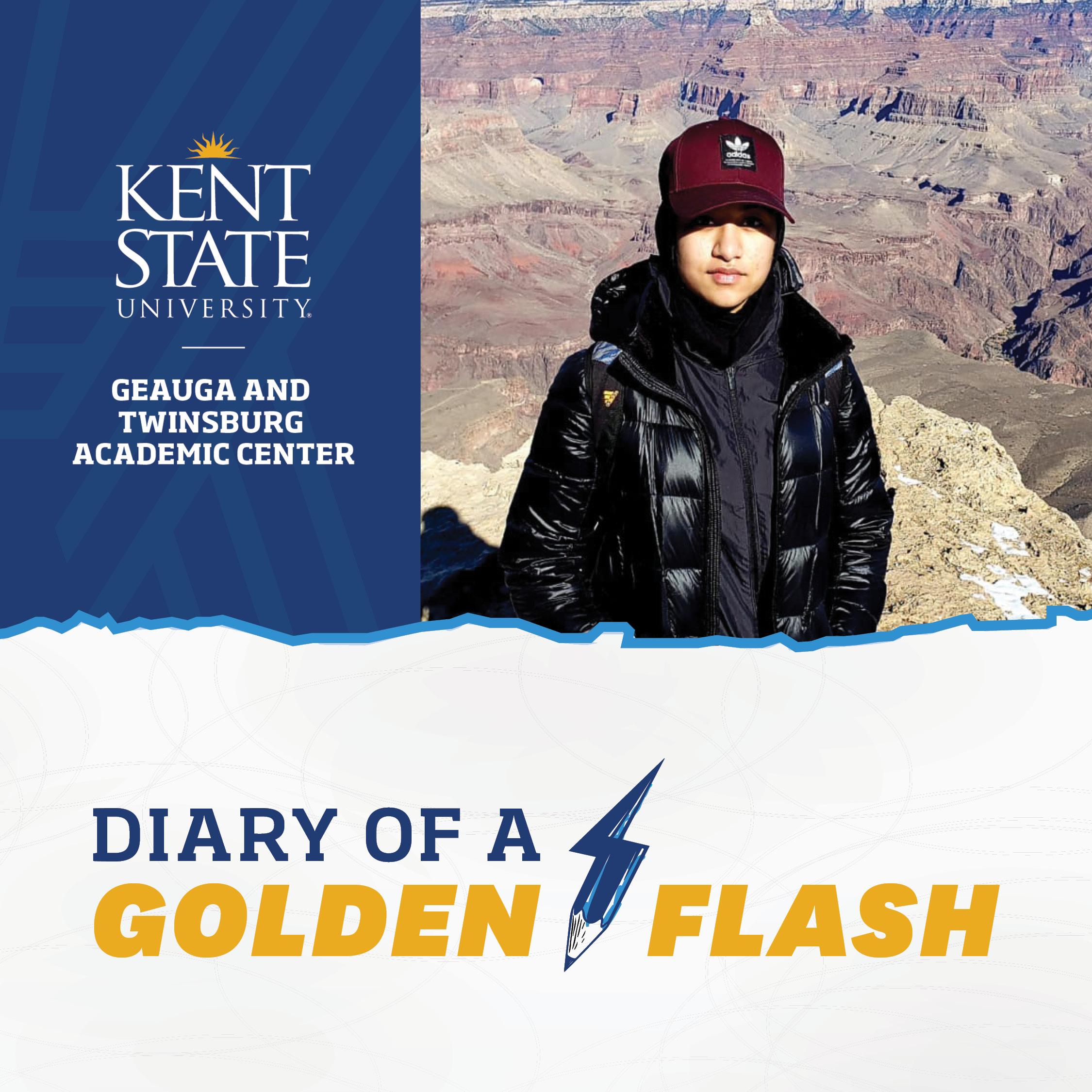 Diary of a Golden Flash Isra Shaikh