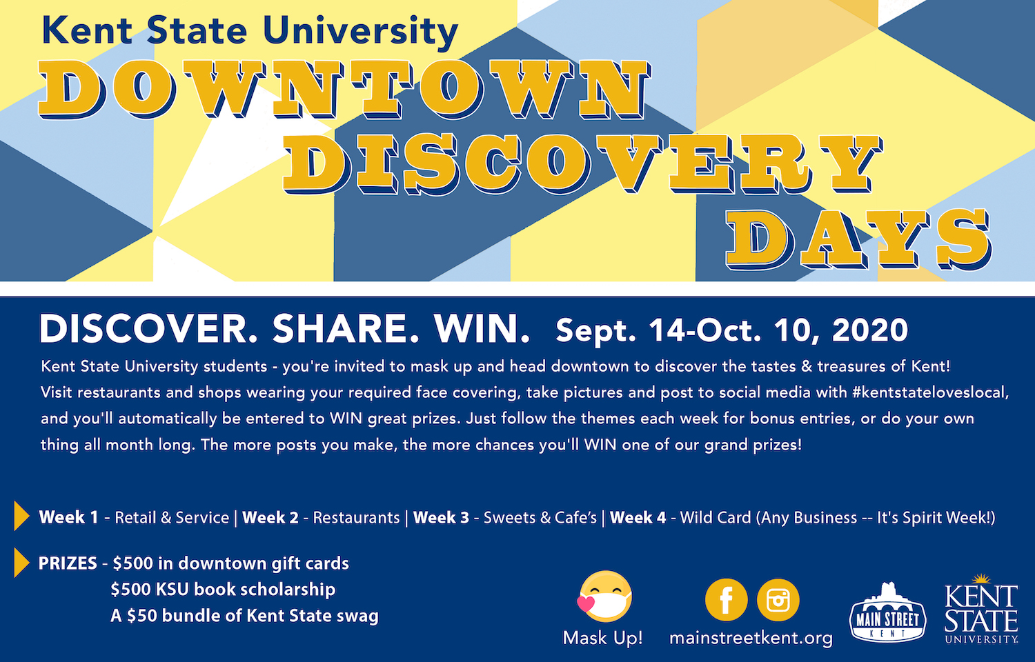 Discovery Days Flyer