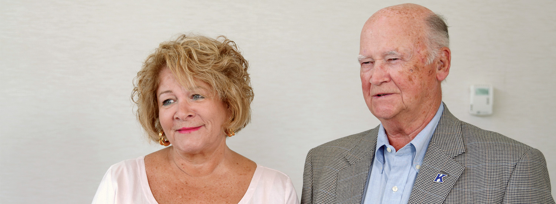 Catherine and Jim