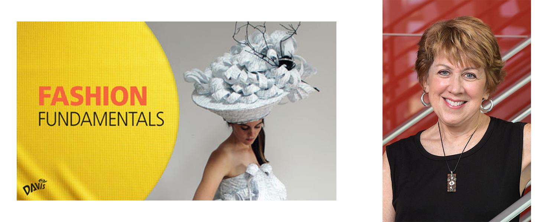 Fashion Fundamentals book cover and a photo of Robin Vande Zande