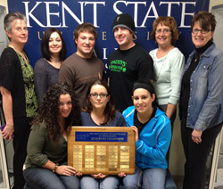 Students represent Kent State Salem at the annual Ohio Society of Radiologic Technologists meeting.