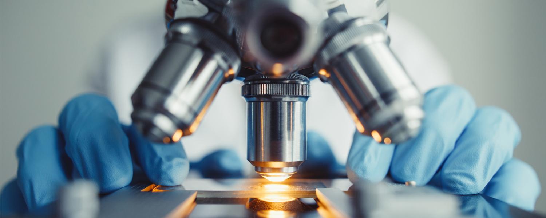 A microscope for scientific research