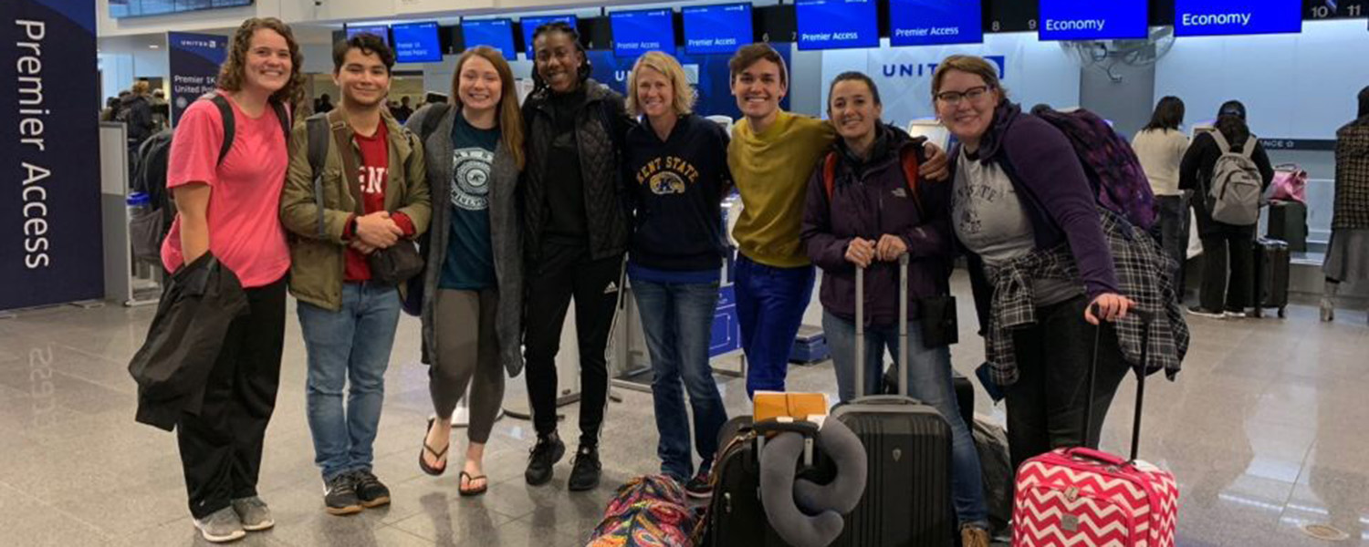 A group of Kent State resident assistants traveled to Australia in the first trip of the university's International Residence Assistant Exchange Program.