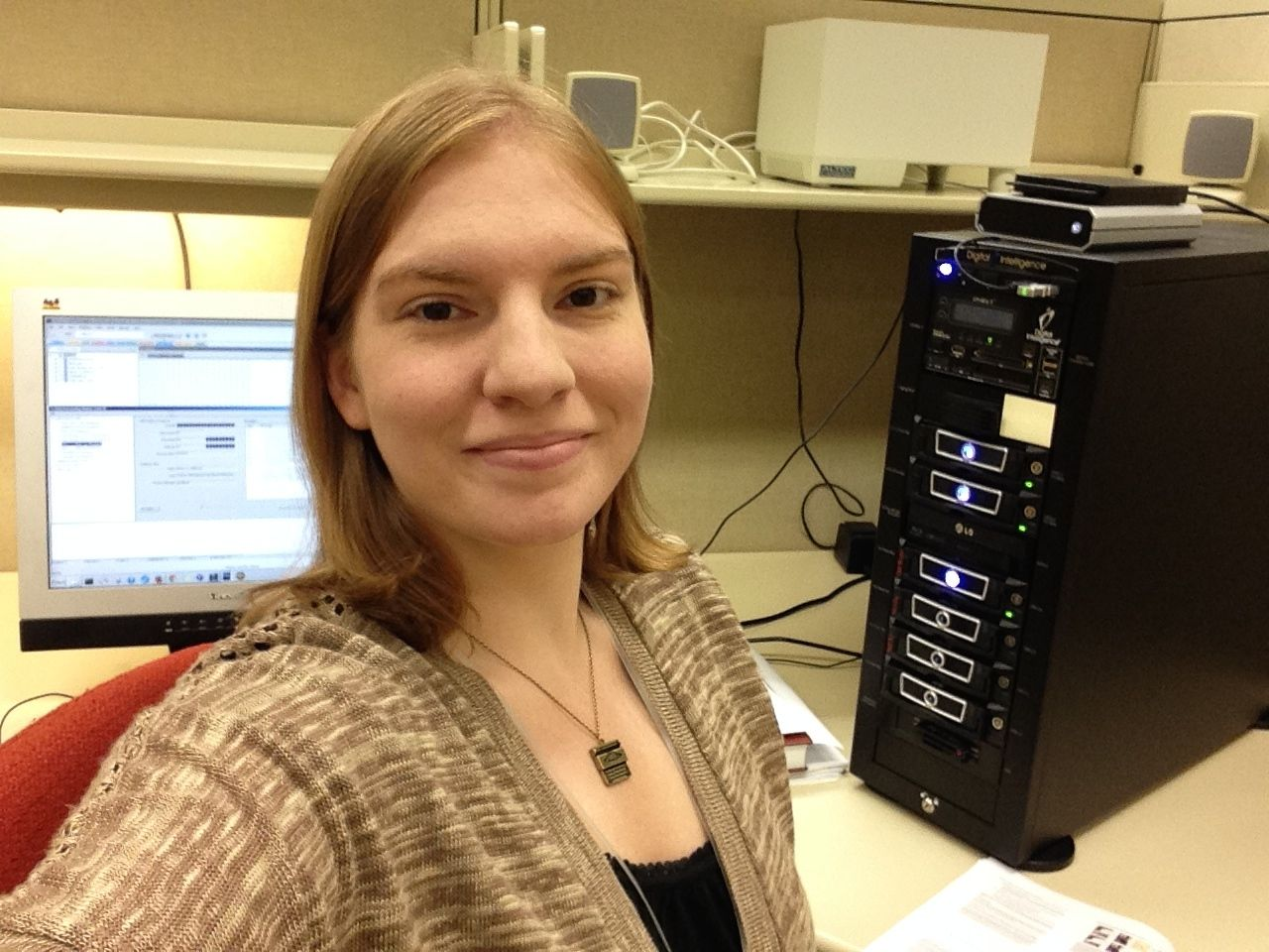 Rachel McPherson, M.L.I.S. '14, Processing and Digitization Technician, Cleveland Museum of Art
