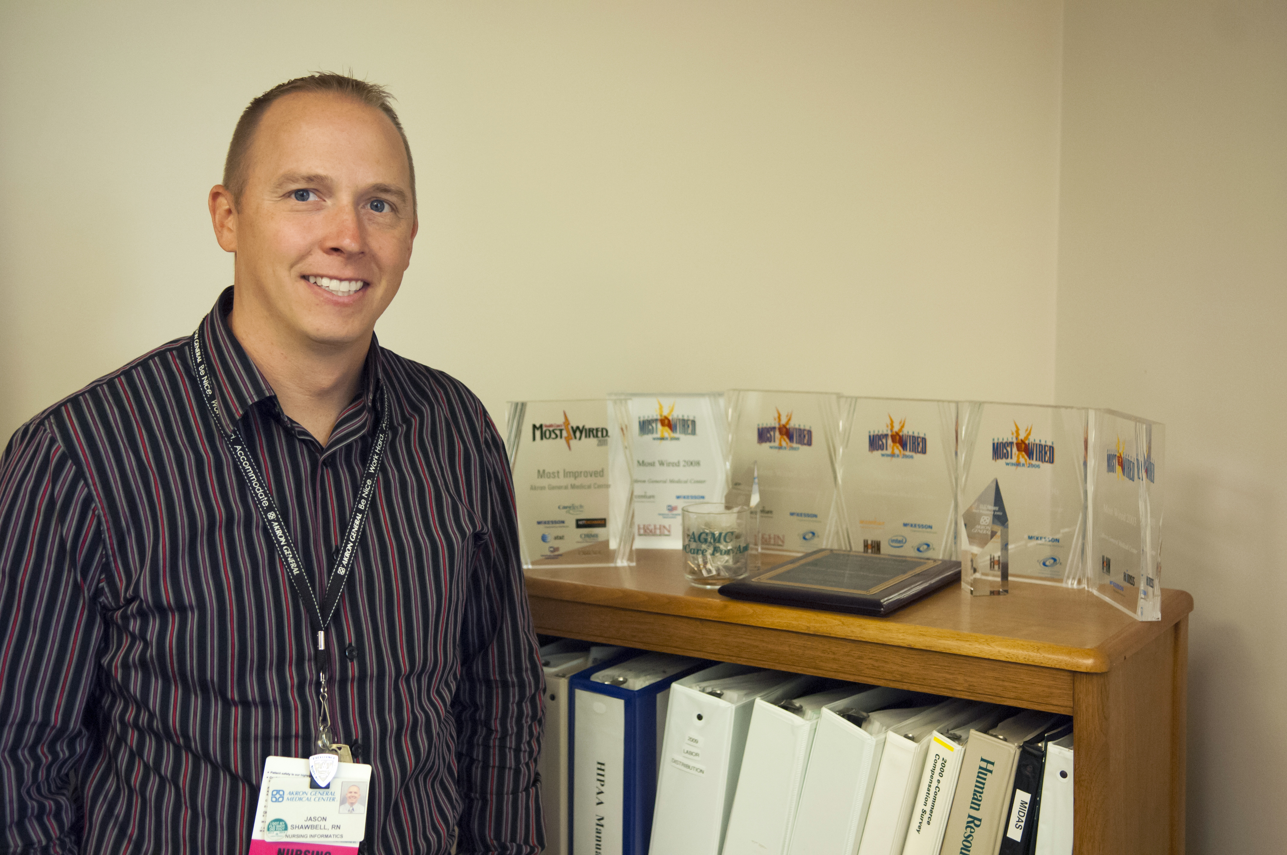 Jason Shawbell, M.S. 2013, Systems Administrator, Nursing Informatics, Akron General Medical Center
