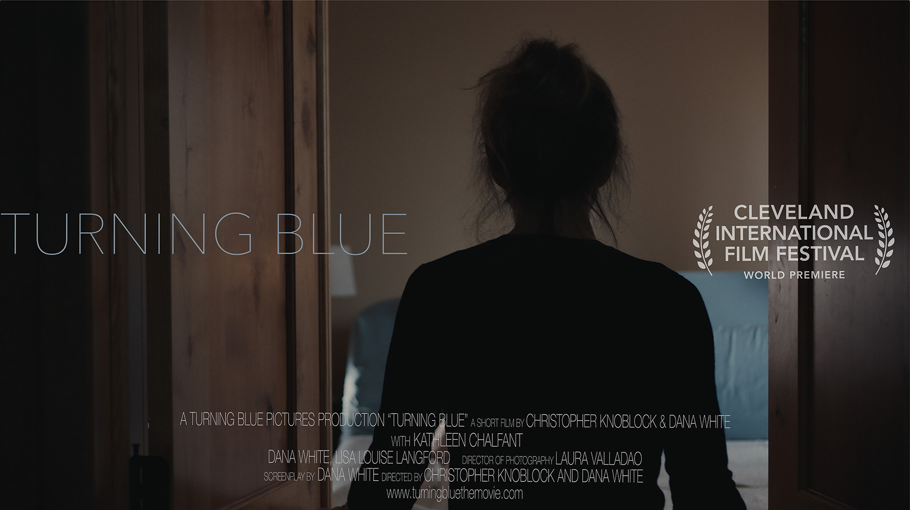 poster for Turning Blue film