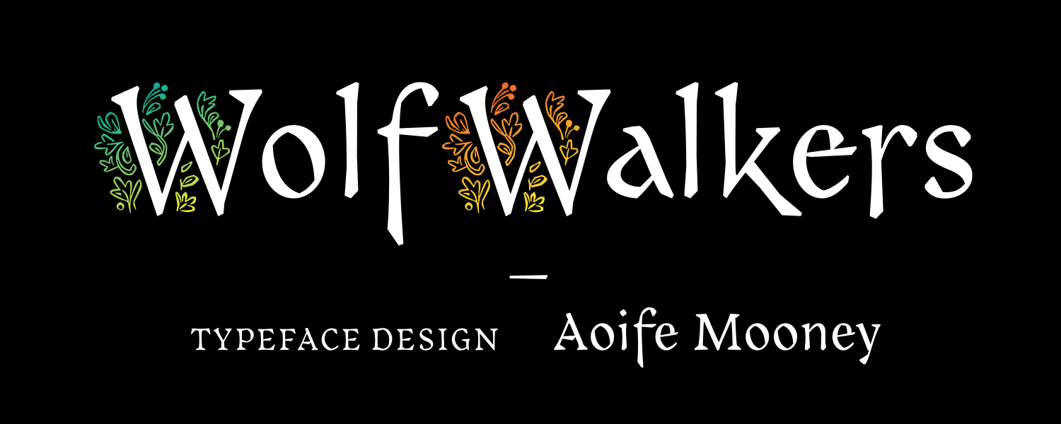 Wolfwalkers font example