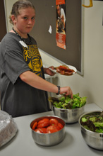 Rural Scholars learn about proper nutrition