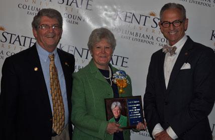 Lifetime Achievement Award Winner, Linda Henderson, Dr. Stephen Nameth