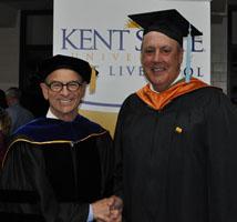 Dean Steve Nameth and Tom Rutledge