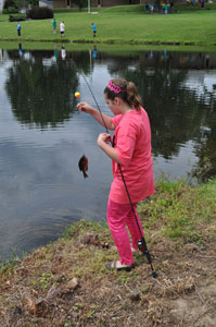 Fishing for new skills