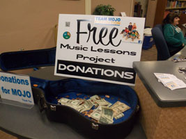 Guitar Case with Donations