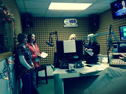 K105 Broadcast Room