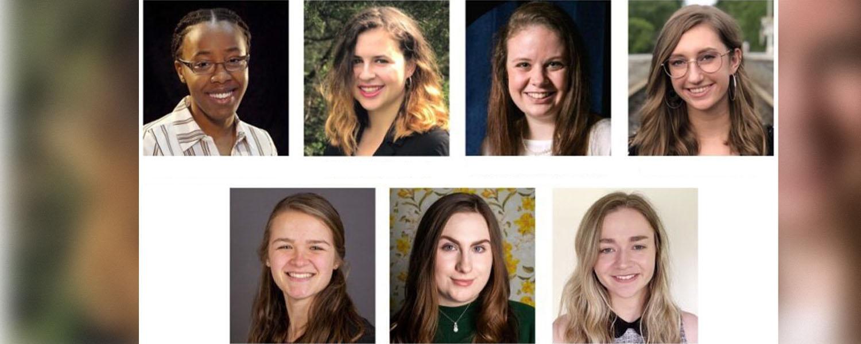 Seven student headshots