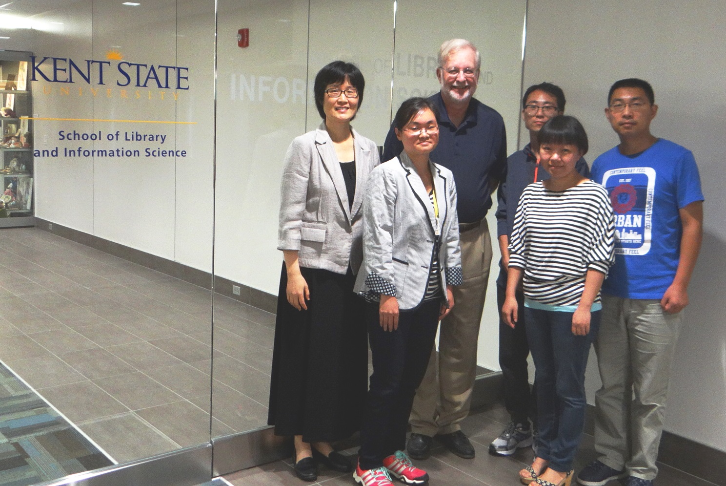 Visiting scholars from China