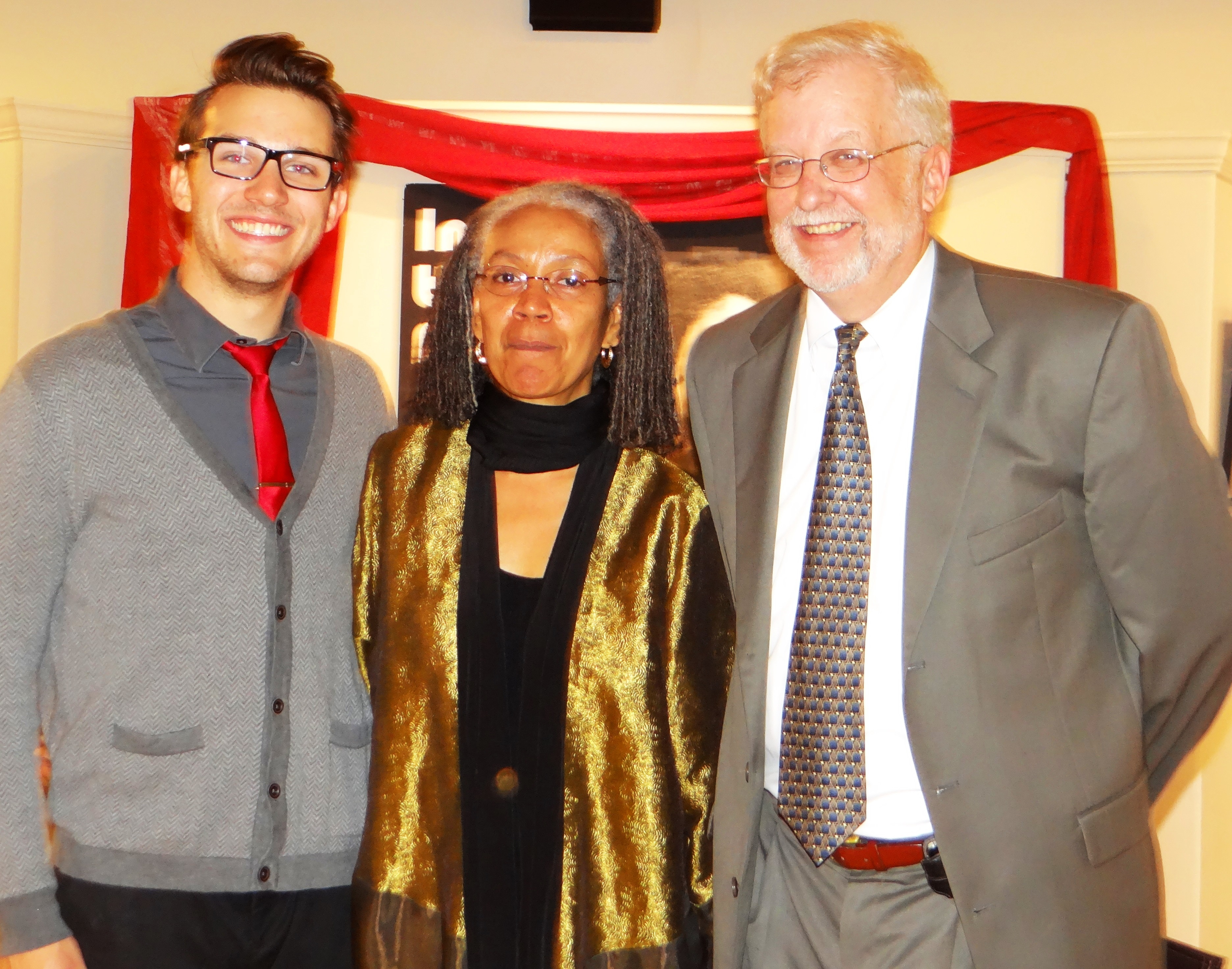 Dillon Sedar, Joanne Kilgour Dowdy, Jeff Fruit