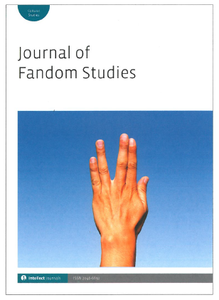 Cover for the Journal of Fandom Studies