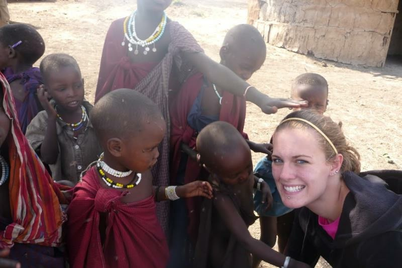 As a nursing student, Jennifer had the opportunity to travel to Kilimanjaro, Tanzania.
