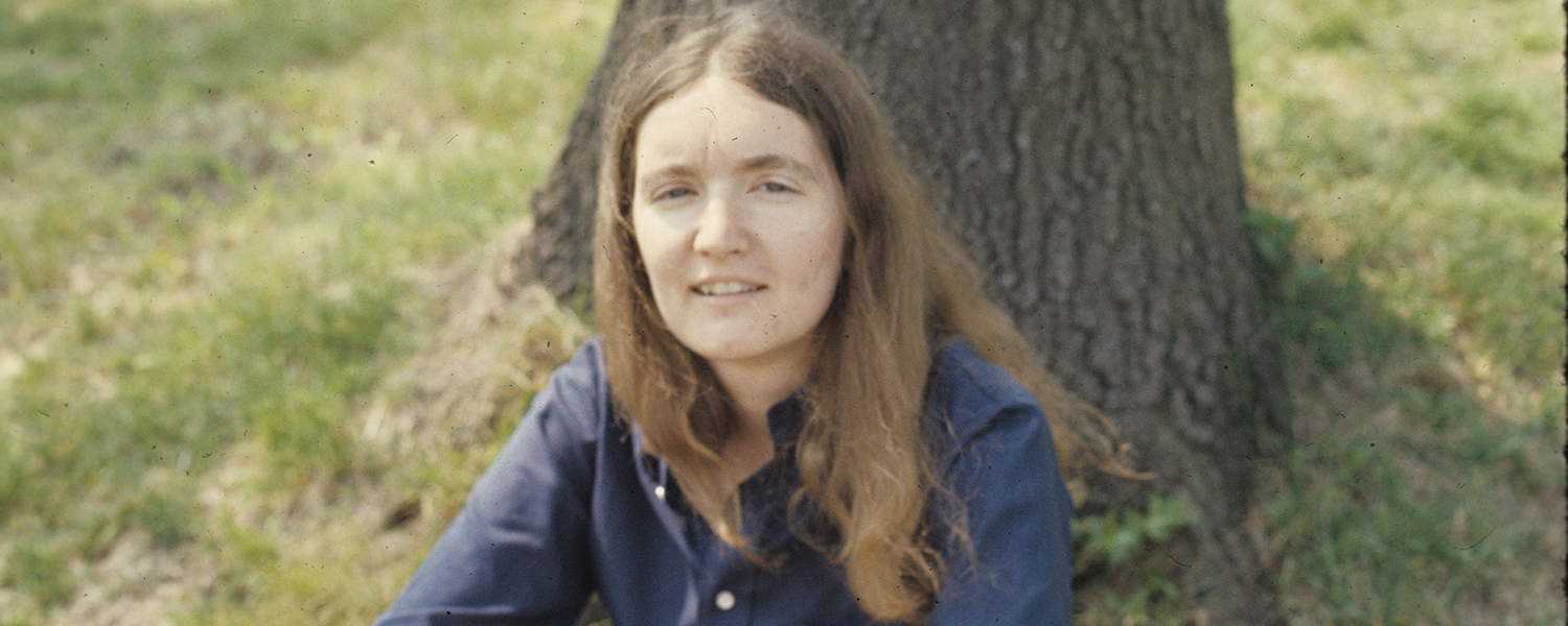 Dianne Centa, pictured here in 1977, has witnessed many changes at Kent State University since she started working there in 1973. She recently celebrated 45 years at Kent State.