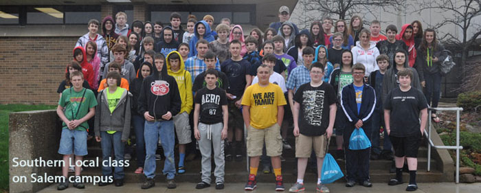 Southern Local 8th Graders Visited KSU at Salem