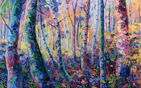 Landscape painting by Eileen Dorsey