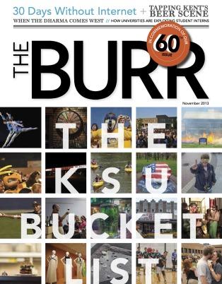 "The Burr's ""The KSU Bucket List"" Issue"