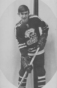 Fornes as the Dayton Gems stickboy