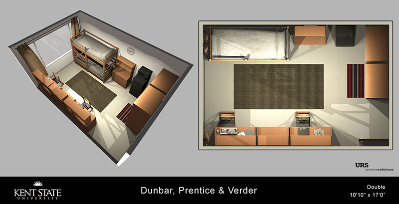 Dunbar, Prentice, and Verder Double Room diagram
