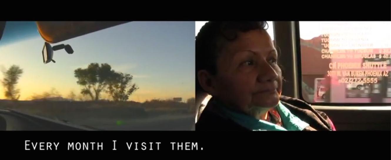 Image taken from the video Historias en la Camioneta by Mary Jenea Sanchez, 2011