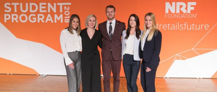 Student Scholarship Award Finalists at NRF Gala in New York City