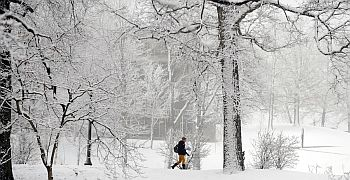 Photo of Kent State Campus in the Winter