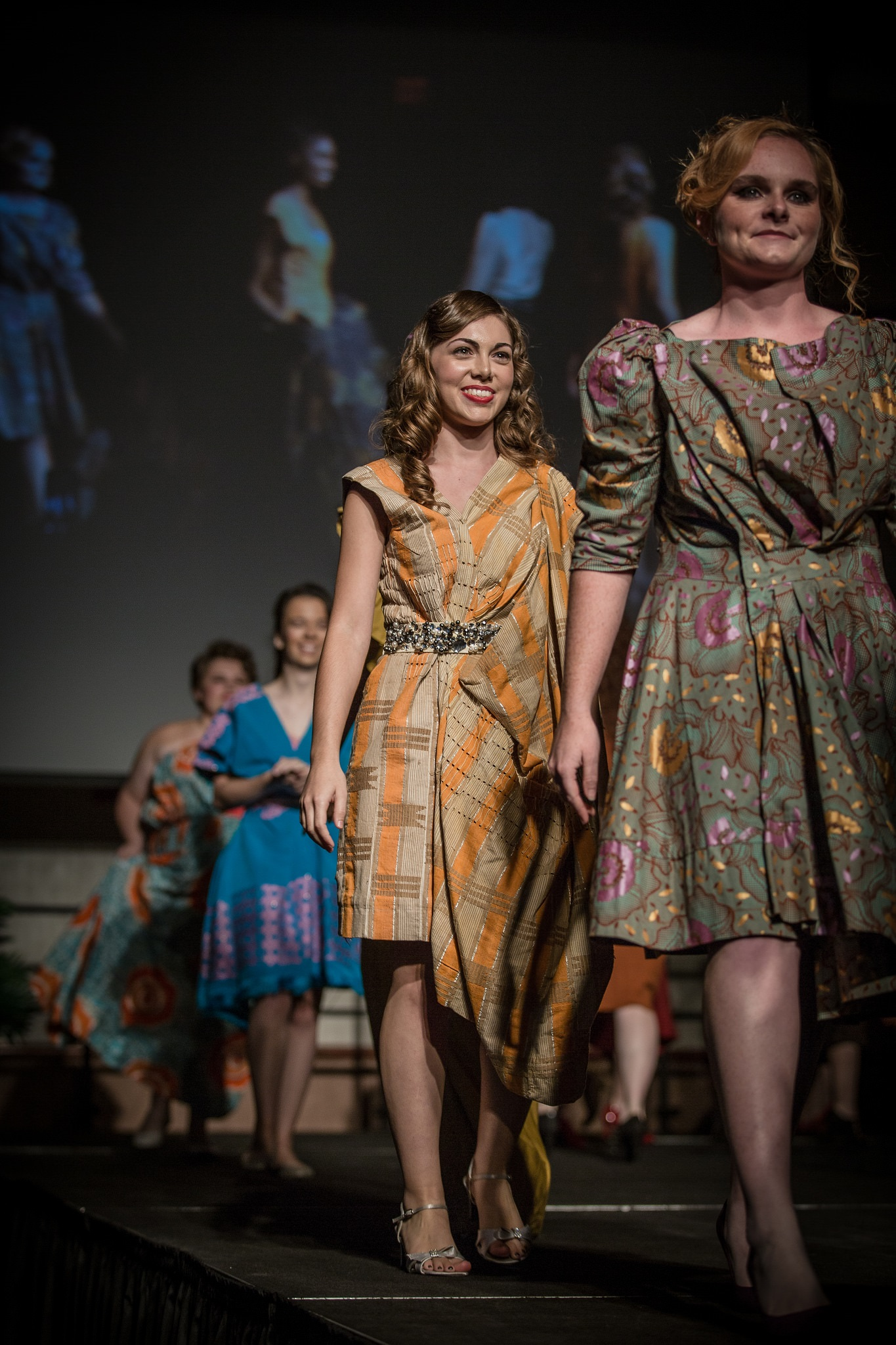 Photo of UNCHAINED fashion show at Kent State University at Stark