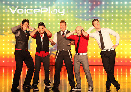 The contemporary a cappella sensation VoicePlay will be on stage at the Kent State University at Tuscarawas Performing Arts Center on Oct. 15.