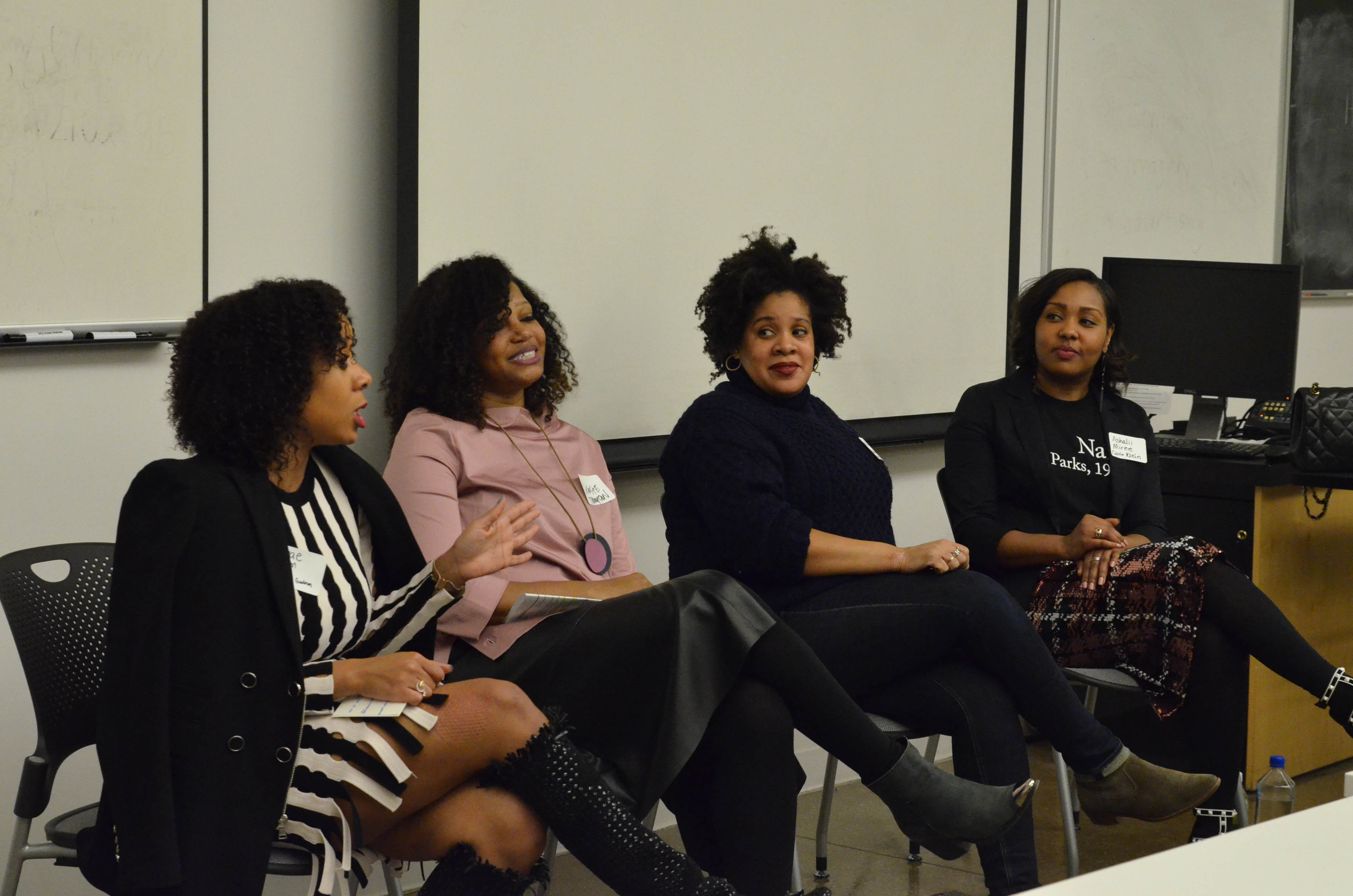 Panelists from Diversity Panel Series
