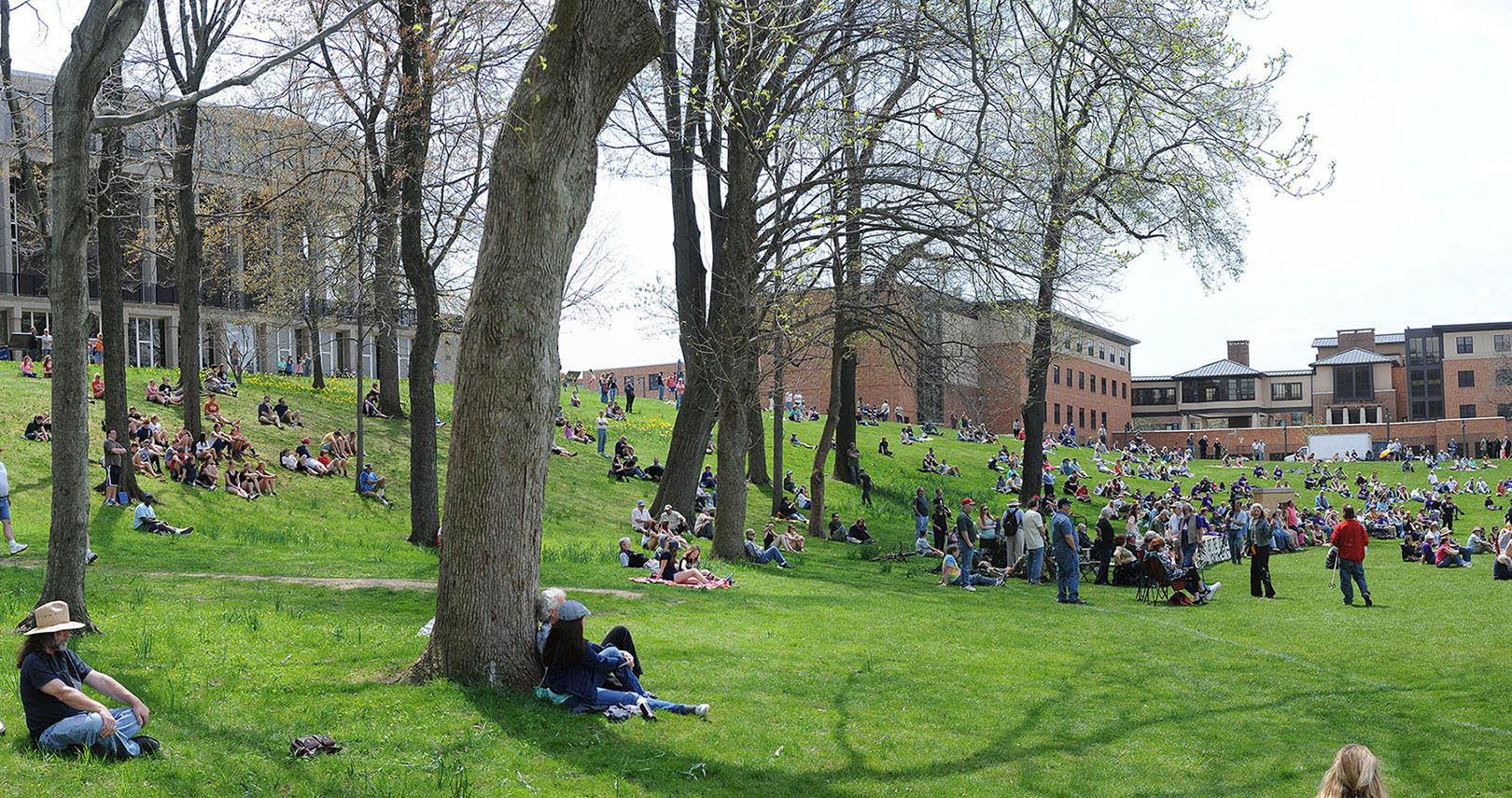 Photo from Kent State's May 4 Commemoration in 2015