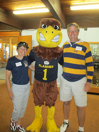 Photo from Kent State's Alumni Weekend