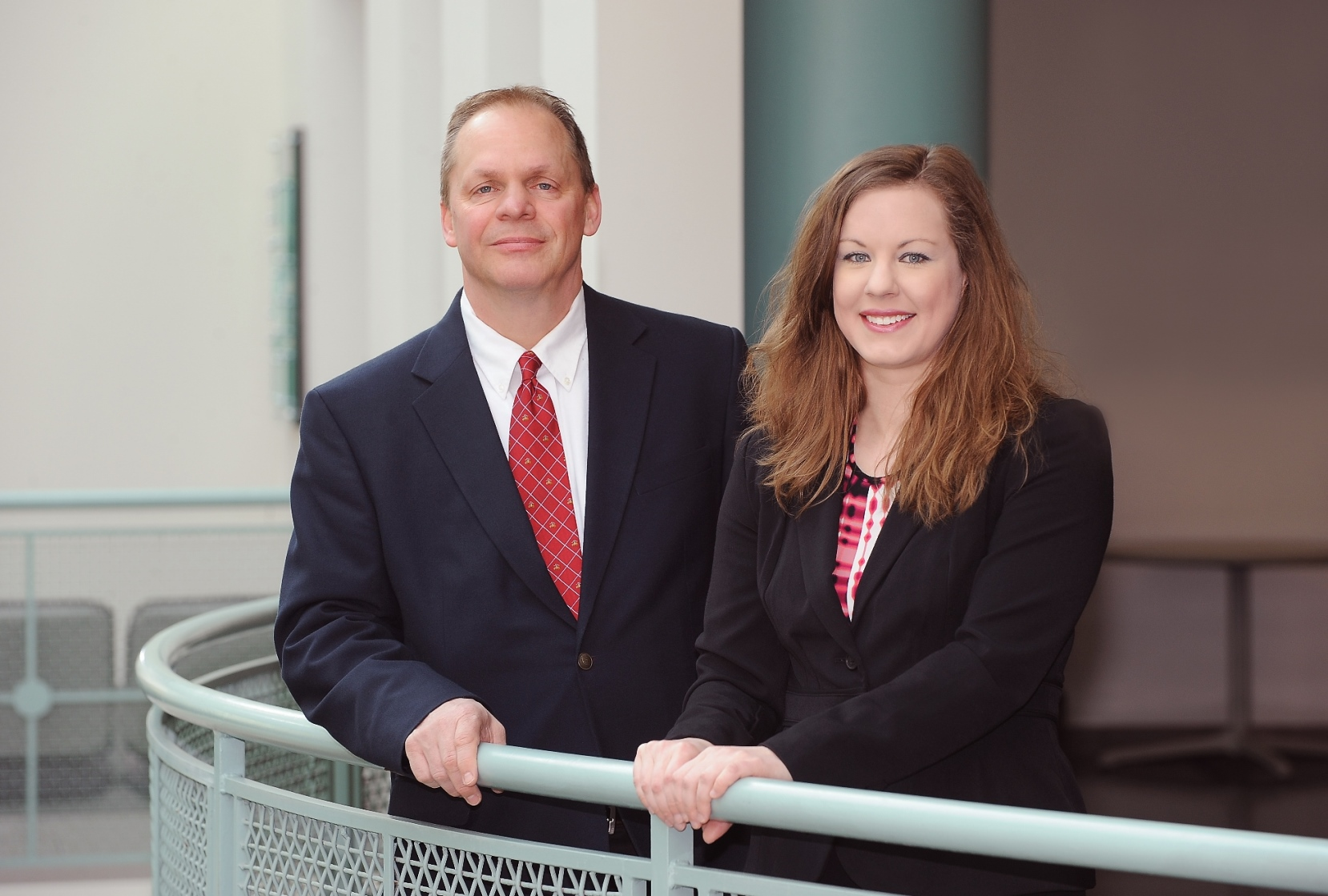 Photo of Christopher Banks and Lisa Hager