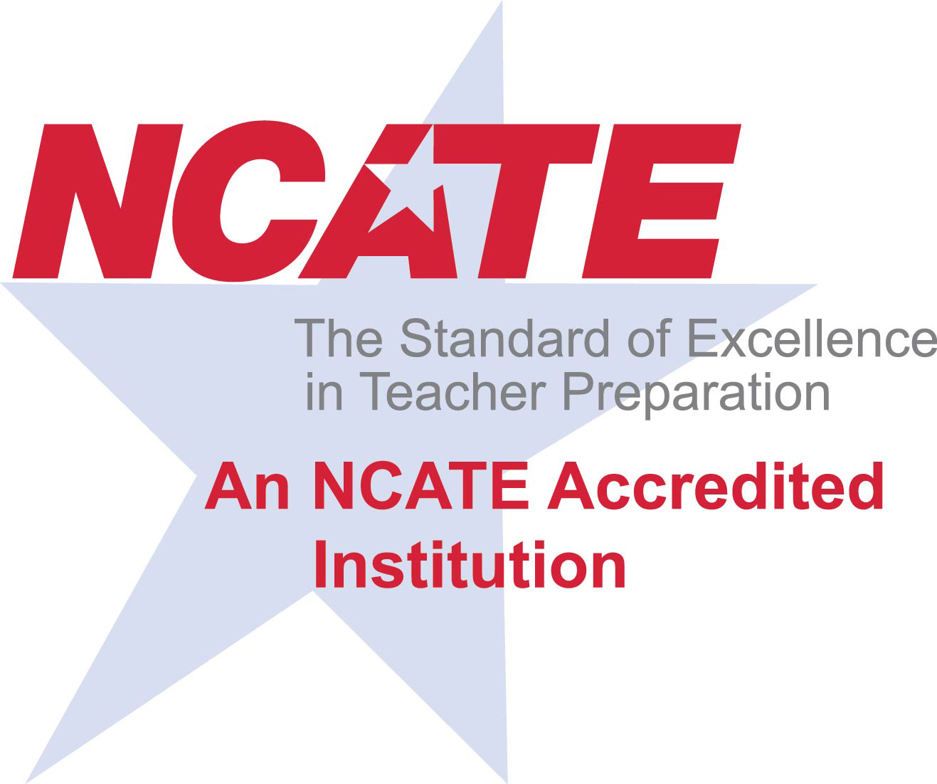 Logo for NCATE Accredited Institution