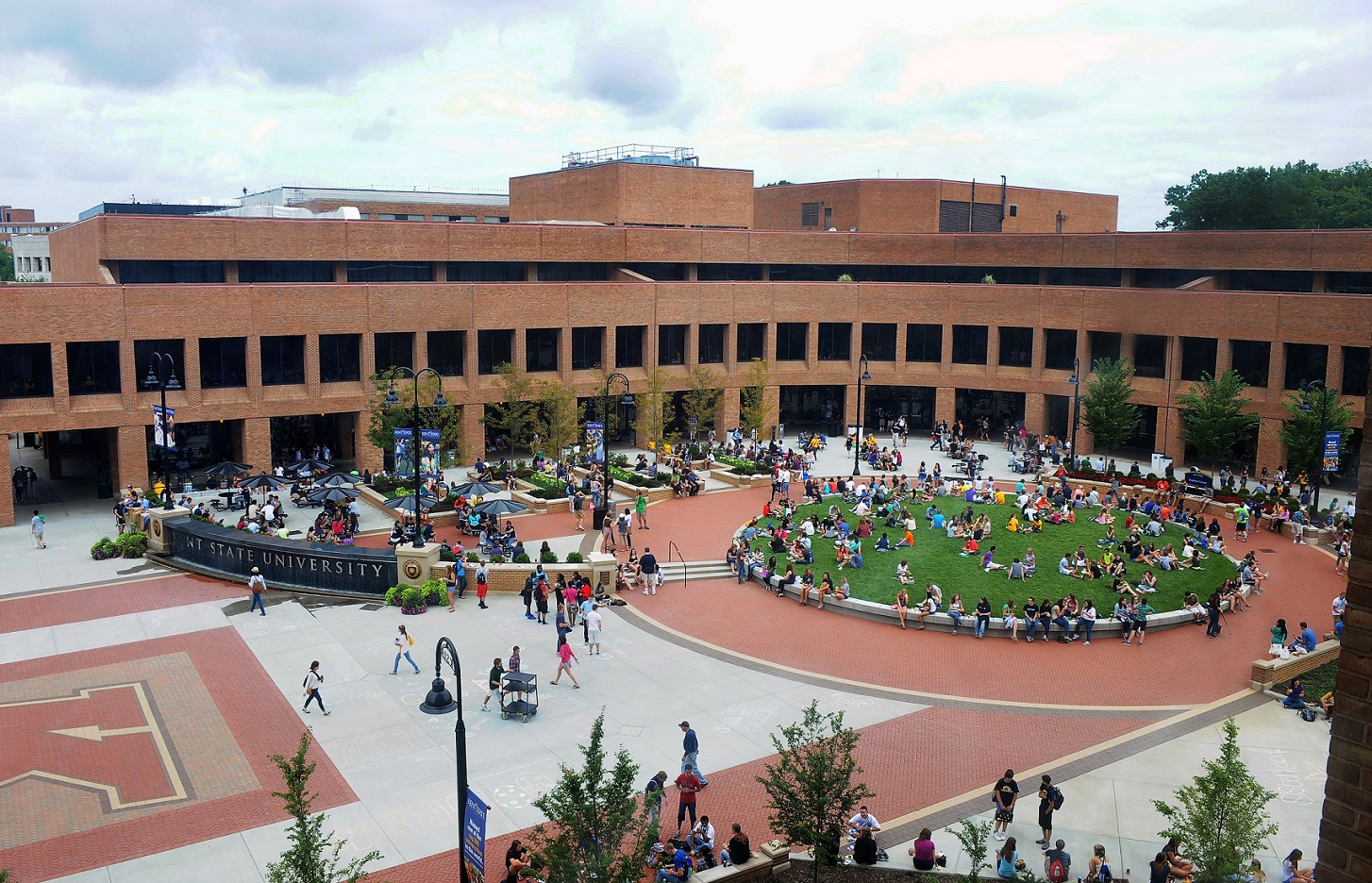Photo of Kent State campus