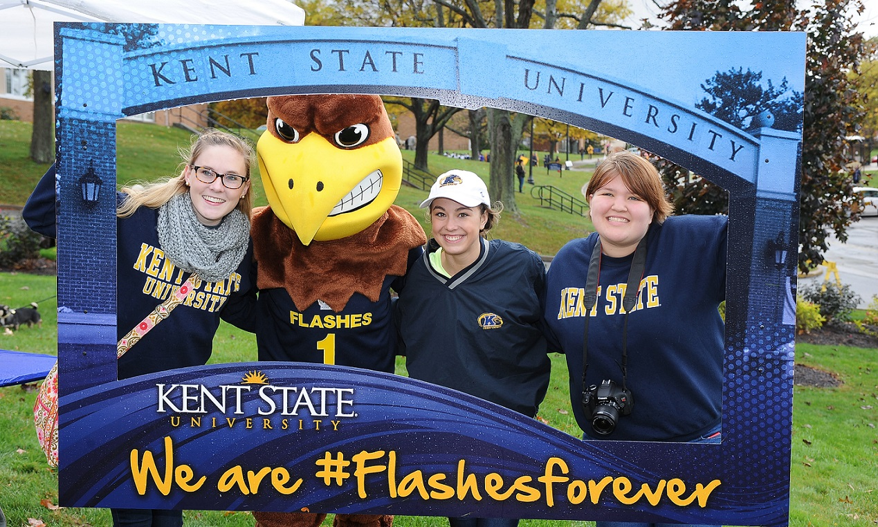 Photo from Kent State's 2014 Homecoming