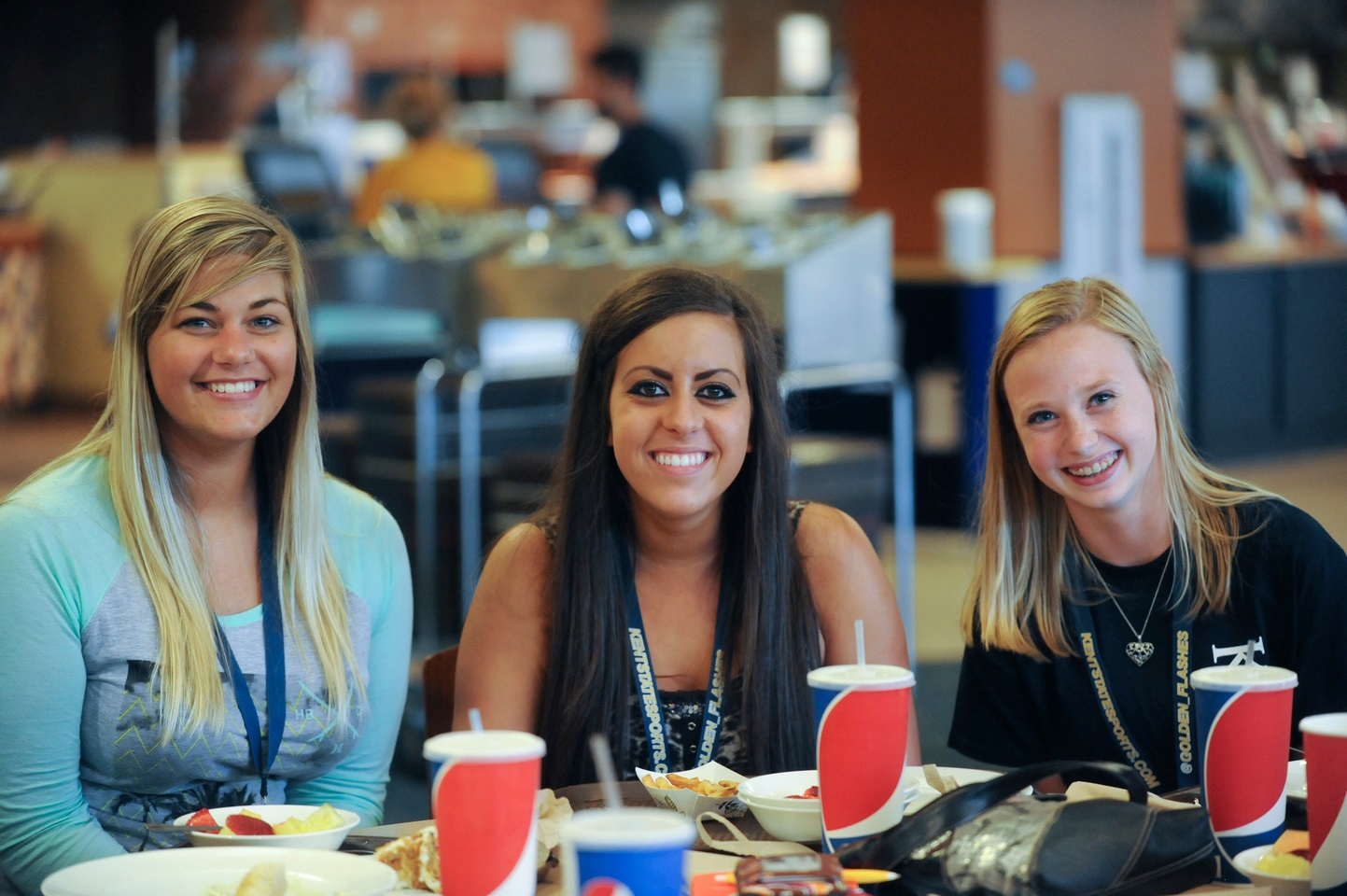 Photo 1 from Dining Services - students at lunch