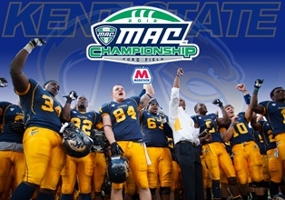 Celebrate the Kent State University Golden Flashes on Thursday, Nov. 29, at 9 a.m., as they head out to Detroit for the 2012 Mid-American Conference (MAC) Championship