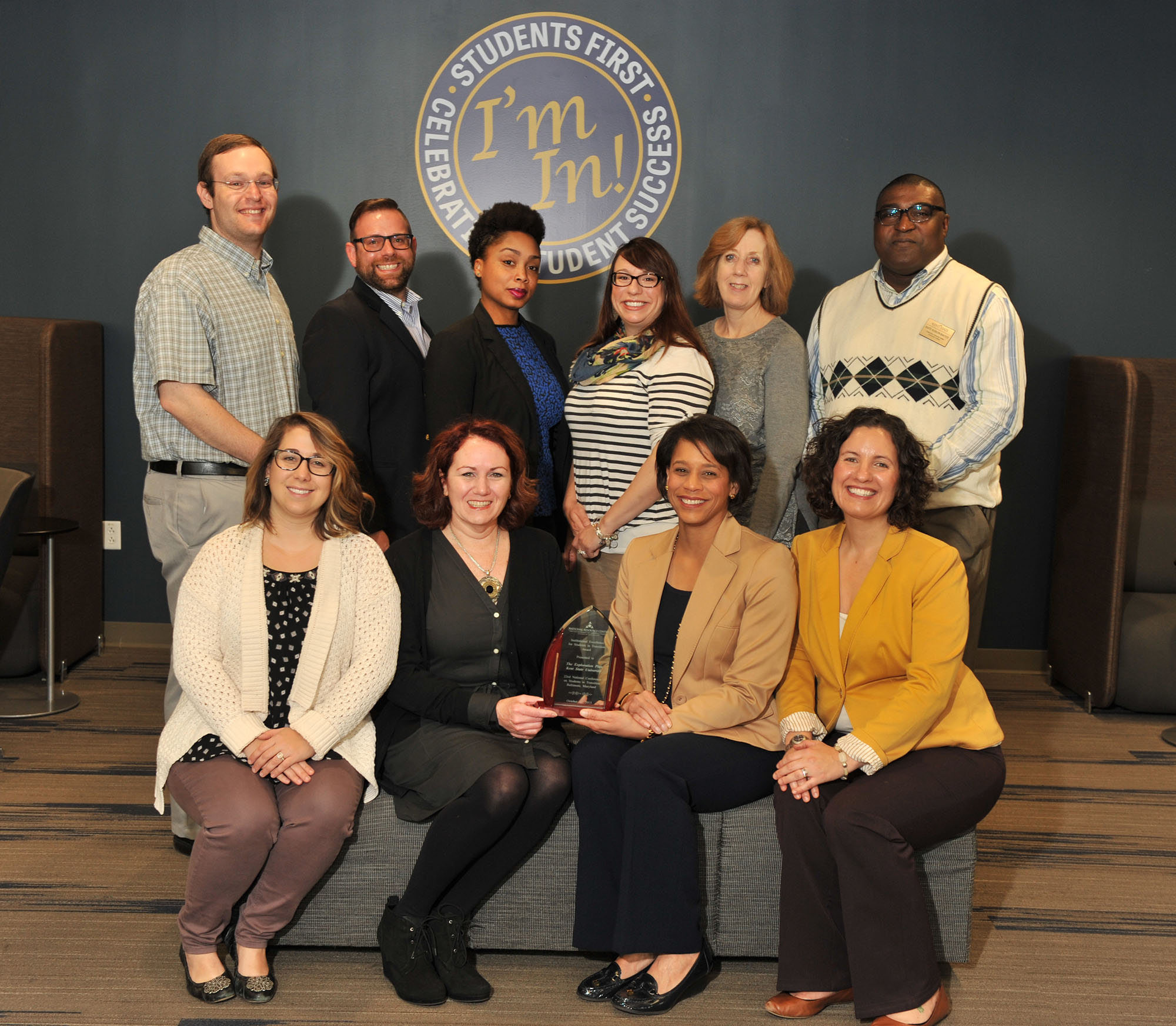 Institutional Excellence for Students in Transition Award Image
