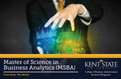 MSBA Graphic, Master of Science in Business Analytics