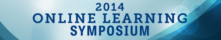 2014 Online Learning Symposium Banner Graphic