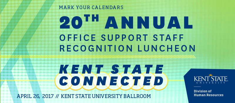 Office Support Staff Recognition Luncheon Banner